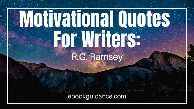 Motivational Quotes For Writers